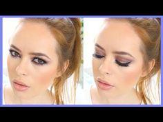 ▶ Smoky Purple Arab Inspired Makeup Tutorial   Tanya Burr - YouTube