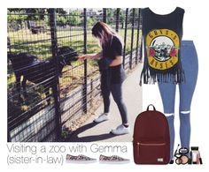 """Visiting a zoo with Gemma (sister-in-law)"" by harrystylesislove ❤ liked on Polyvore"