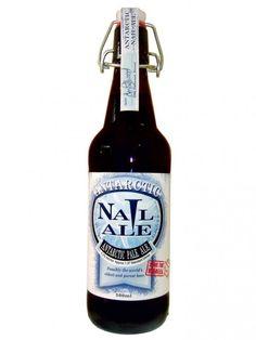 Cerveja Antarctic Nail Ale, estilo American Pale Ale, produzida por Nail Brewing, Austrália. 5.2% ABV de álcool.