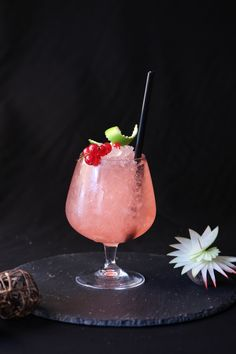 Lychee Cooler, with Lychee Syrup 1883. #Cocktail #Bartender