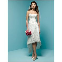 #Wedding Dresses That Are Short In Front Long In Back. perfect for the beach or summer wedding