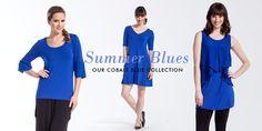 LNBF- Summer Blues! www.lnbf.ca #summer #blue #fashion #eco #ecofashion