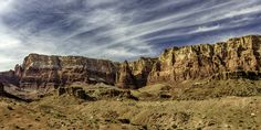 https://flic.kr/p/PGDRGL | Marble Canyon, Arizona. Helms Deep? | Arizona is a land of great wonder and beauty. It's landscapes make for beautiful art works. There are unlimited places to visit and enjoy. The cactus spread out across the landscape creating iconic images that speak of 'Southwest. The sky at sunset is often brilliant with color. Everywhere you look are the Red Rock Mountains which glow with color at sunrise and sunset.  This fabulous photograph is available at my online store…