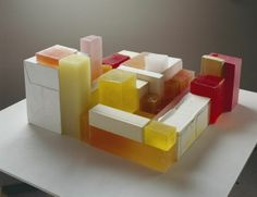 Untitled (Mix) (2007-08) plaster, pigment, and resin (thirty-nine units)