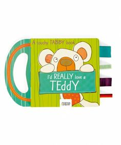 I'd Really Love A Teddy Story Book - great idea for first birthday present