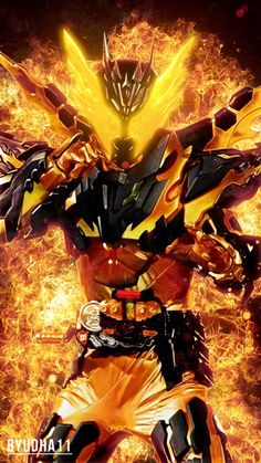 Kamen Rider Cross-Z Magma Wallpaper by Byudha11