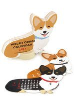 Year of the Critter 2014 Calendar in Corgi   Perfect for your dogloving aunt!