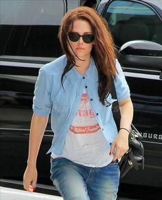 Kristen Stewart in Persol