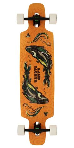 This drop-through is super versatile! It is soft enough for cruising and stiff enough for freeriding!