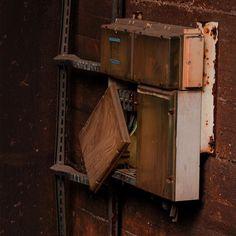 #lostplaces #powerbox #Duisburg #steel #factory #landschaftsparkduisburg #nopeople