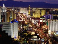 Las Vegas, Nevada.... Adore this city. I have been 12 times, and I never tire of it!