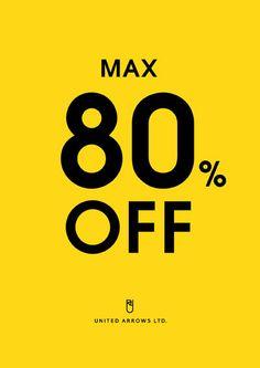 今年もやりますMAX80%OFFで夏モノをお得にゲットしませんか