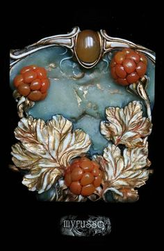Украшения - 2014 | 245 фотографий  #jewelry #polymer_clay #sculpture #miniature…