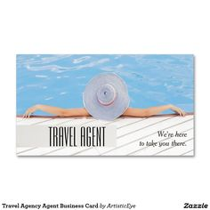 16 best travel agent business cards images on pinterest carte de travel agency agent business card colourmoves