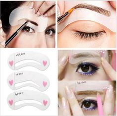 3 Styles Grooming Brow Painted Model/Eyebrows Styling Tool //Price: $5.99 & FREE Shipping //   #ilovemakeup
