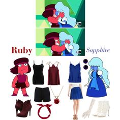 Casual Cosplay Steven Universe by kenzikat on Polyvore featuring BKE core, Old Navy, Miss Selfridge, Jessica Simpson, Dolce&Gabbana, Kate Spade, Everlasting Gold and yunotme