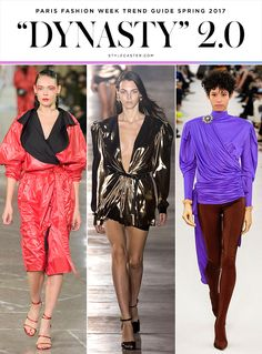 The 10 Biggest Trends from Paris Fashion Week Spring 2017   StyleCaster