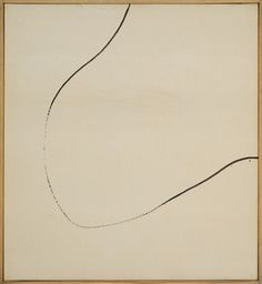 "23rd-block: "" Martin Barré, 61-T-12. 1961. Oil on canvas. """