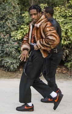 My baby fucking daddy Fashion Killa, Look Fashion, Mens Fashion, Fashion Styles, Mode Masculine, Asap Rocky Outfits, Asap Rocky Shoes, Asap Rocky Wallpaper, Asap Rocky Fashion