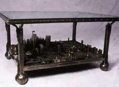 CustomMade Curator: Cityscape Coffee Table