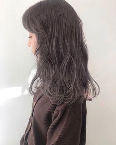2019年に挑戦したい ラベンダーアッシュカラー Ash Brown Hair Color, Hair Colour, Ashy Hair, Hair Designs, Hair Inspo, Cute Hairstyles, Hair Goals, Dyed Hair, Curly Hair Styles