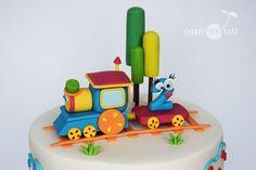 Bob, the Train cake - Cake by Cherry Red Cake - CakesDecor