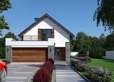 Projekt domu Fiodor G2 133,70 m² - koszt budowy - EXTRADOM Good House, House Plans, Garage Doors, Shed, Outdoor Structures, Villa, Cabin, How To Plan, Architecture