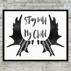 This black and white tribal nursery art print is perfect for your little sweeties black and white playroom, or modern nursery and features