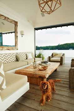 For My Lakehouse Someday Anne Hepfer Outdoor Lake House Room Designsponge I Love The