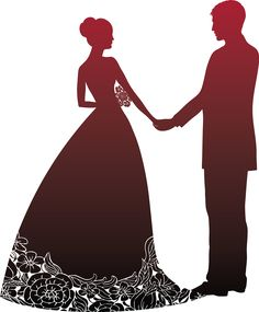 CASAMENTO Couple Silhouette, Wedding Silhouette, Silhouette Art, Wallpaper Images Hd, Cute Wallpaper Backgrounds, Wedding Anniversary Cards, Wedding Cards, Pop Up Karten, Wedding Cross Stitch