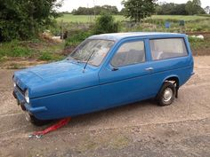 Reliant Robin 1977-and my search for the worlds ugliest car is over