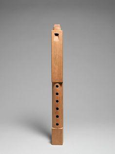 Tarka (medium), 20th century. Bolivian Culture, Bolivia. Wood. The Metropolitan Museum of Art, New York. Gift of Anabelle P. and Alberto C. Mariaca, 1995 (1995.541.2). #MetMusic