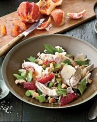 Winter Chicken Salad with Citrus and Celery Recipe -Mindy Fox | Food & Wine