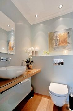 perfect guest bathroom