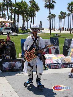 Venice Beach guitar man...