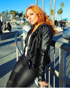 hot becky lynch 2020 leather pants at DuckDuckGo Latex Cosplay, Wrestling Divas, Women's Wrestling, Becky Lynch, Beautiful Redhead, Beautiful Celebrities, Beautiful Women, Simply Beautiful, Becky Wwe