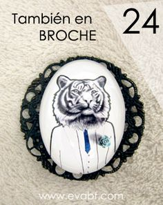 Ya puedes lucir ilustraciones / Now! a look unique - Illustration - Brooch / Broche $21,5 (16€)