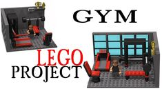 gym Lego project by Brick Designer Please Subscribe!<3