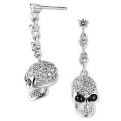 Skull Dangle Earrings LIMITED QUANTITIES AVAILABLE