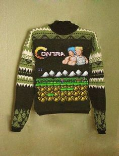 If you have to do the whole hipster ironic Christmas sweater thing, at least be a bad ass about it.