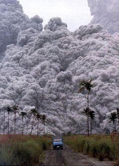 Lahar Racing. Mt. Pinatubo Eruption 1991 Philippines! Represent!