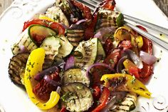 Try grilling eggplant, sweet peppers, onions and zucchini for a tasty and colourful side dish.  In addition to giving these veggies a boost of flavour, our EVOO fig balsamic dressing makes this tasty side oh so easy to prepare - so easy that you'll want to serve them at every meal.