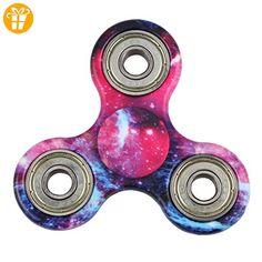Ouneed® Hand Spinner Spielzeug , Fidget Hand Spinner multicolored rainbow Finger Spielzeug für Kinder und Erwachsene - Fidget spinner (*Partner-Link)