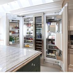 """29.2k Likes, 468 Comments - Interior Design & Home Decor (@inspire_me_home_decor) on Instagram: """"Let's talk about this fridge, GOALS! By @hayburnco"""""""