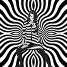 op art fashion: also known as optical art, is a style of visual art that makes use of optical illusions. www.sebraskinn.no