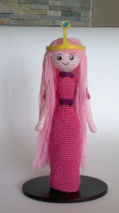 Amigurumi: Hora de Aventuras - La Princesa Chicle - www.annajois.es