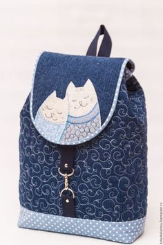 Rucksack with cats