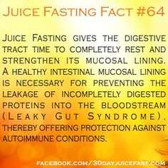 Juice Fasting Fact #64
