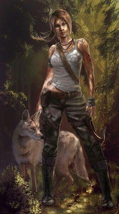 Tomb Raider art.