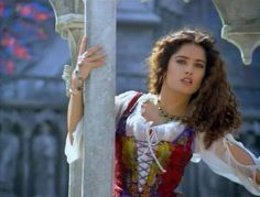 "Salma Hayek - In The 1997 Movie Version Of ""The Hunchback of Notre Dame"""